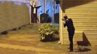 Cops Shoot Man Holding Gun With Arms Raised