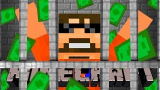Minecraft: JAIL BREAK | HAVING SOMEONE SELL MY THINGS!!!! #7