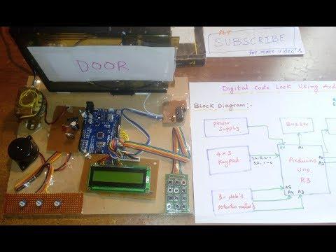 Digital Code Lock Using Arduino Uno