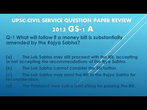 UPSC CIVIL SERVICE PRELIM EXAM SOLVED QUESTION AND ANSWER-2013