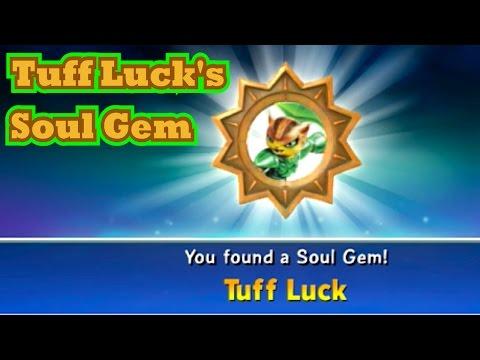 Skylanders Trap Team - Tuff Luck's Soul Gem - Garden of Pain Upgrade