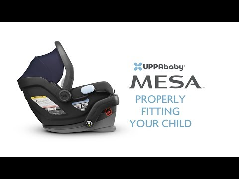 UPPAbaby MESA - Properly Fitting Your Child