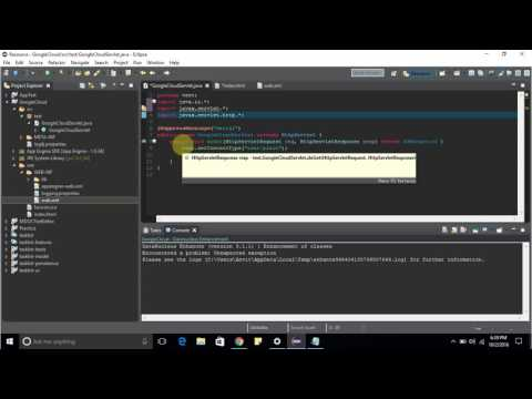 Deploying a Java web application on Google App Engine