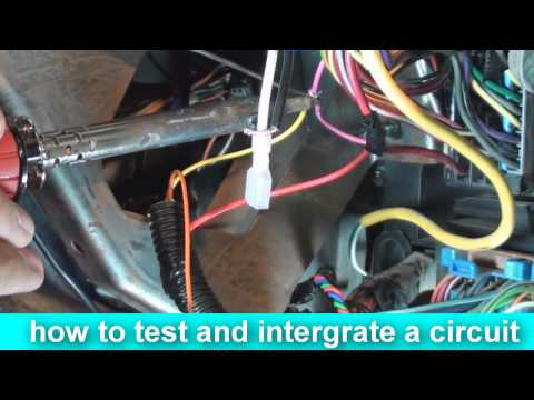 how to install an alarm car security system