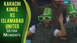 PSL 2017 Match 20: Karachi Kings vs Islamabad United - Ultra Motion Moments