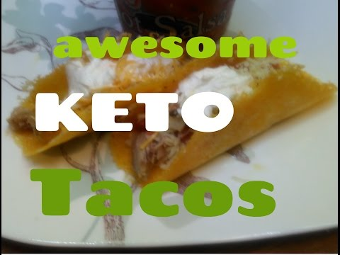 HOW TO MAKE TASTY HARD SHELL TACOS IN MICROWAVE and DIPPING! Low Carb Recipe