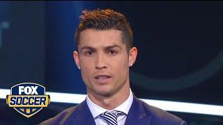 Cristiano Ronaldo wins best FIFA men