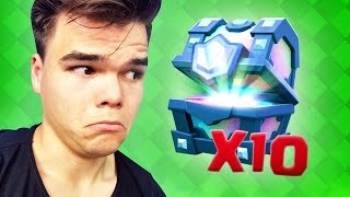 EXTREME LEGENDARY CHESTS OPENINGS! (Clash Royale)