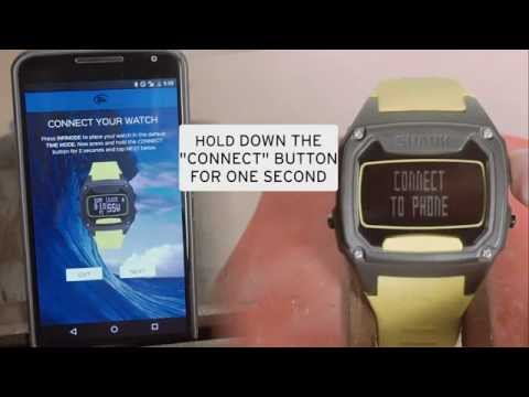 How to Connect your Shark Tooth Smart Watch
