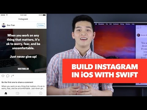 How to Build Instagram Newsfeed - UITableView and UICollectionView Tutorial - How to Make An App
