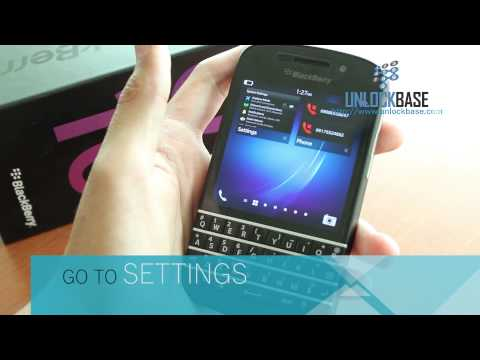 How to Find the IMEI (Serial Number) of your BlackBerry Q10