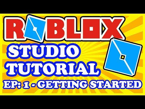 Roblox Studio Tutorial - First Time User Tutorial for Beginners - Getting Started with Roblox Studio