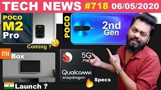 POCO M2 Pro Coming,2nd Gen POCO Teased,Snapdragon 875 Specs,Mi Box 🇮🇳 Launch,MIUI 12 India-#TTN718