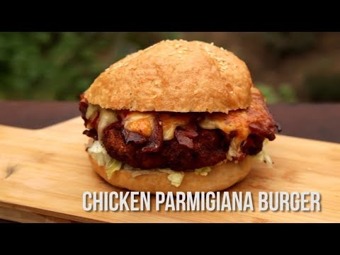 How to Cook a Chicken Parmigiana Burger (Quickie)