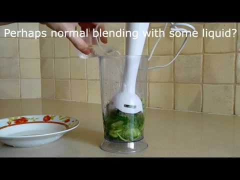 Will It Blend? The immersion blender version!