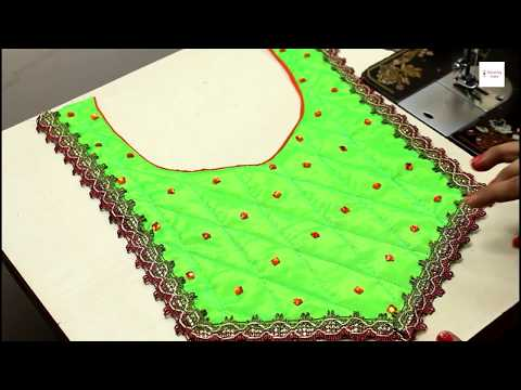 Beautiful Neck Design for Suit / Churidar / Kameez / Kurti (Step by Step) Very Easy,  neck designs