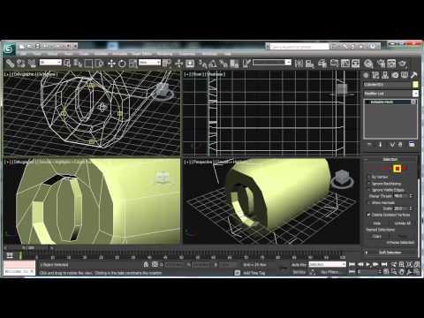 3ds Max: Modeling a Barrel