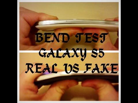 BEND TEST CHALLENGE: REAL S5 vs FAKE S5---------BendGate Iphone 6 Plus