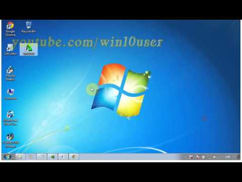 Windows 7 Ultimate Tips : How to keep icons from moving