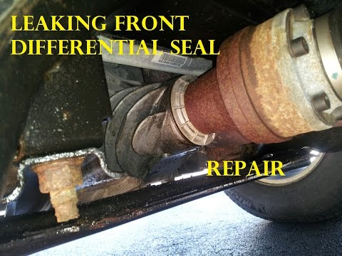 Ford Transfer Case Pinion Seal Replacement Front Differential