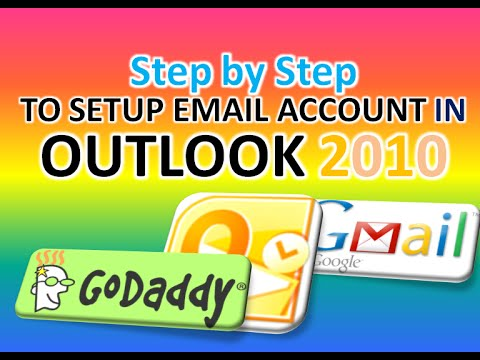 STEP by STEP  To Setup Email Account In OUTLOOK 2010