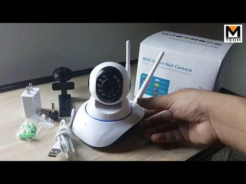 IP Wifi Security Camera 360 Degree Pakistan Urdu|Hindi