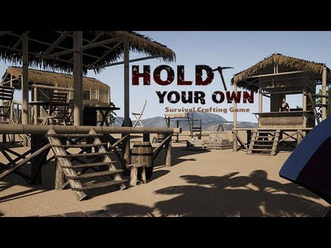 Hold Your Own Gameplay 2018 - Tropical Island Revolution Sandbox!