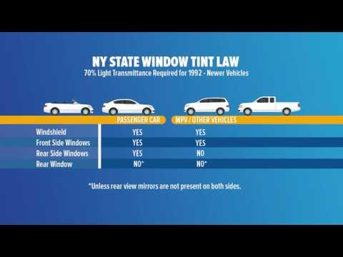New Window Tinting Law