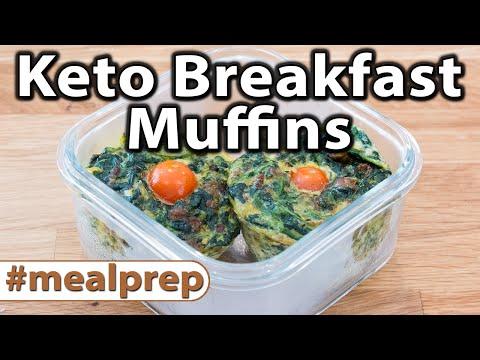 Keto Breakfast Muffins | Weekly Meal Prep | Caveman Keto