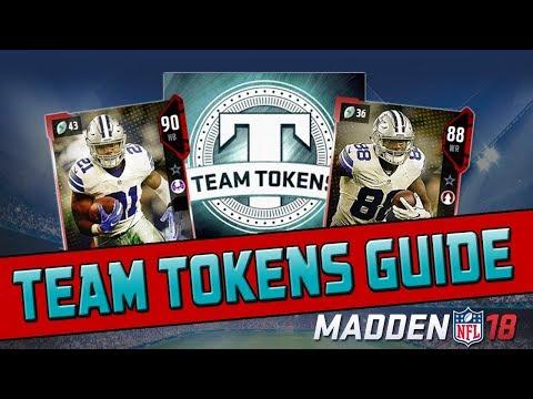 Team Tokens & Power Ups Explained! | Madden 18 Ultimate Team Tips