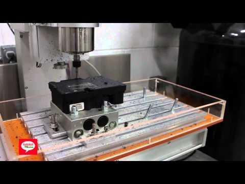 XeMODeX Opening BCM Module on CNC Machine