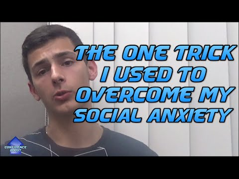 How I Overcame My Social Anxiety (Using One Simple Trick)