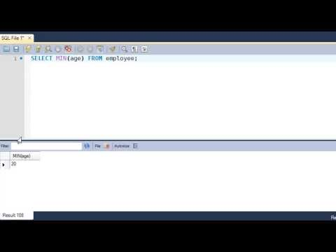SQL Tutorial - 51: Aggregate Functions (Part-1)