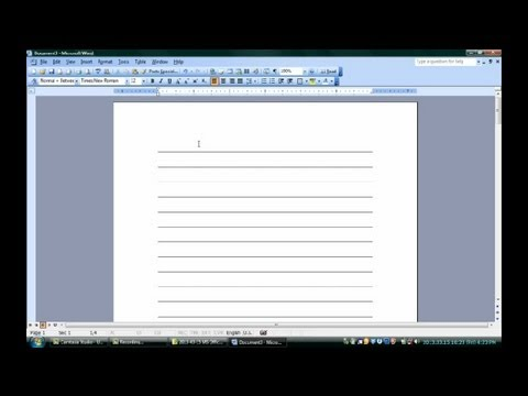 How to Make Notepads in Microsoft Word : Microsoft Word & Excel