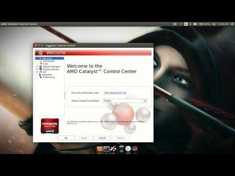 Installing AMD Graphics Driver Along With Catalyst Control Centre On Ubuntu 14.04 Safely.