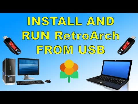 How To Run RetroArch LAKKA From USB On Any PC Or Laptop