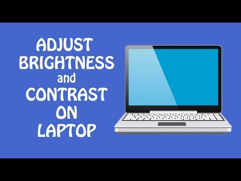 How To Adjust Brightness on Laptop Windows 7/8/10