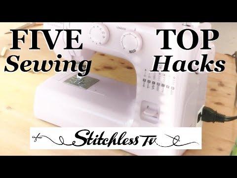Top 5 Sewing Hacks & Tips