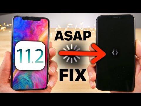 iOS 11.2 Released! URGENT Crash Fix
