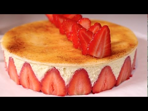 Strawberry Gateau Fraisier
