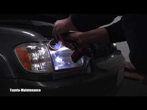 Toyota Sequoia Headlight Restoration