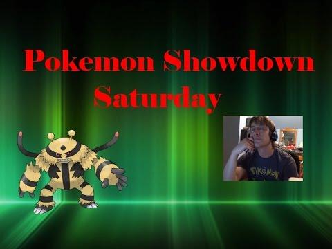 But...Why? || Pokemon Showdown Saturday (vs. Brustus123)