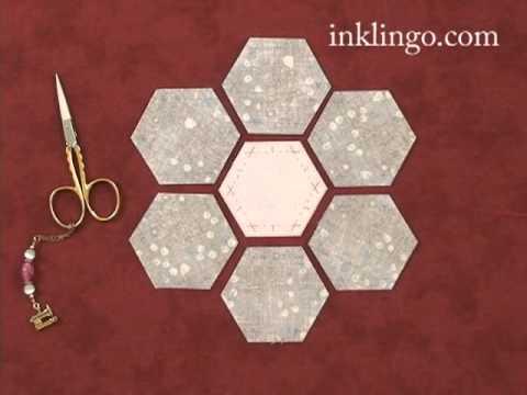How to Sew a Grandmother's Flower Garden Quilt