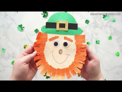 How to Make a cute Leprechaun Craft for St. Patrick's Day