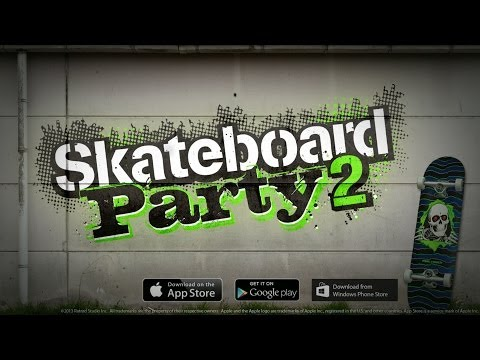Skateboard Party 2 Trailer - Video Game Available Now for iOS, Android & Windows Phone
