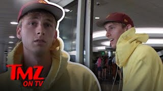 Machine Gun Kelly Use To Work At Chipotle! | TMZ TV