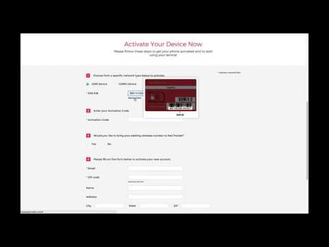 How to activate your GSMA device on Red Pocket Mobile eBay plans