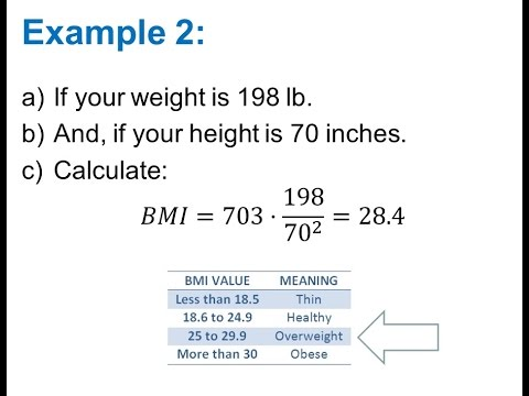 Calculate Body Mass Index (BMI)