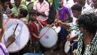 Tamil band performance by a school boy