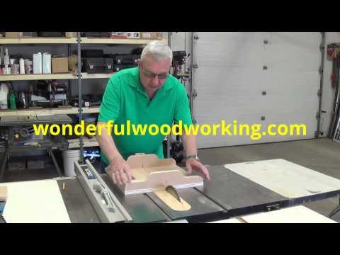Building A Table Saw Cross Cut Sled